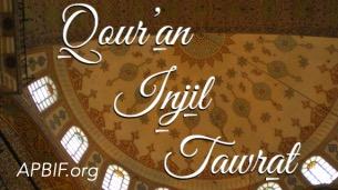 Livres saints, Coran, Evangile, torah