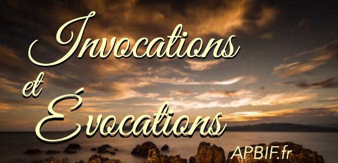 invocation (8)